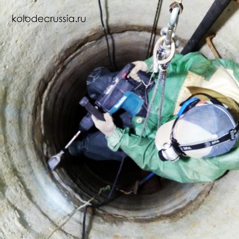 ремонт колодцев в московской области
